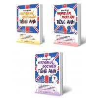 Combo Tự Học Đột Phá Tiếng Anh (Trọn Bộ 3 Cuốn)