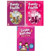 Family And Friends Special Edition Kèm Luyện Viết Lớp 1