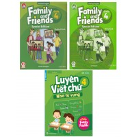 Family And Friends Special Edition Kèm Luyện Viết Lớp 4