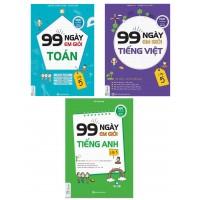 Combo 99 Ngày Em Học Giỏi Toán - Tiếng Việt - Tiếng Anh Lớp 5