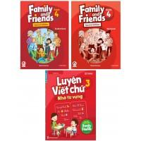 Family And Friends Special Edition 4 Kèm Luyện Viết - Phiên Bản Cho Các Tỉnh