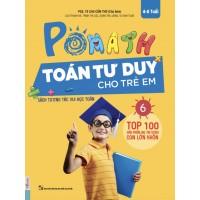 POMath - Toán Tư Duy Cho Trẻ Em 4-6 Tuổi - Tập 6