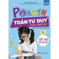 POMath - Toán Tư Duy Cho Trẻ Em 4-6 Tuổi - Tập 5