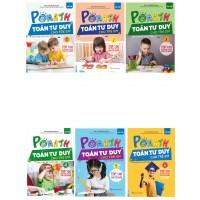 Combo Trọn Bộ Sách PoMath - Toán Tư Duy Cho Trẻ Em 4-6 Tuổi