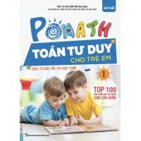 POMath - Toán Tư Duy Cho Trẻ Em 4-6 Tuổi - Tập 1