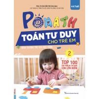 POMath - Toán Tư Duy Cho Trẻ Em 4-6 Tuổi - Tập 2