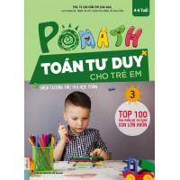 POMath - Toán Tư Duy Cho Trẻ Em 4-6 Tuổi - Tập 3