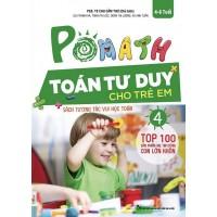POMath - Toán Tư Duy Cho Trẻ Em 4-6 Tuổi - Tập 4