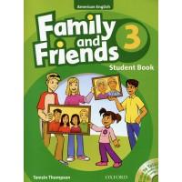 Family And Friends American 3 - Student Book - Phiên Bản Dành Cho Các Trung Tâm