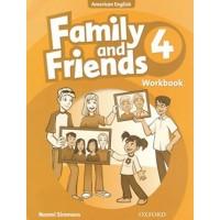 Family And Friends American 4 - WorkBook - Phiên Bản Dành Cho Các Trung Tâm
