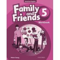 Family And Friends American 5 WorkBook - Phiên Bản Dành Cho Các Trung Tâm