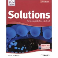 Solutions Pre - Intermediate Student Book - 2nd Edition