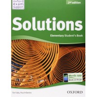 Solutions Elementary Student Book - 2nd Edition