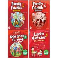 Family And Friends 4 Kèm Luyện Viết Và Bài Tập Bổ Trợ - Phiên Bản Dành Cho Các Tỉnh