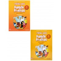 Combo Tiếng Anh Lớp 1 - Family And Friends National Edition