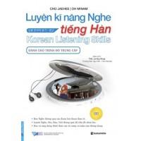 Luyện Kĩ Năng Nghe Tiếng Hàn - Dành Cho Trình Độ Trung Cấp - Kèm CD
