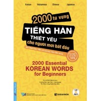 2000 Từ Vựng Tiếng Hàn Thiết Yếu Cho Người Mới Bắt Đầu