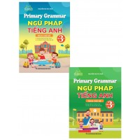 Combo Primary Grammar - Ngữ Pháp Tiếng Anh Lớp 3 Theo Chủ Đề