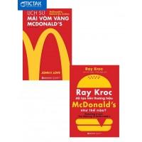 Combo Lịch Sử Mái Vòm Vàng McDonalds + Ray Kroc Đã Tạo Nên Thương Hiệu McDonald Như Thế Nào
