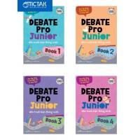 Debate Pro Junior - Nhà Tranh Biện Thông Minh (Bộ 4 Cuốn)