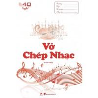 Vở Chép Nhạc (40 Trang)