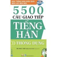 5500 Câu Giao Tiếp Tiếng Hàn Thông Dụng (Kèm CD)