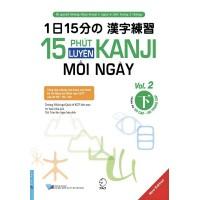 15 Phút Luyện Kanji Mỗi Ngày (Vol 2)