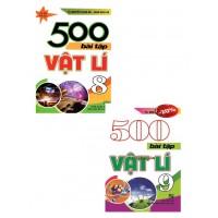 Combo 500 Bài Tập Vật Lí Lớp 8, 9 (Bộ 2 Cuốn)