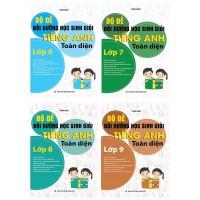 Bộ Đề Bồi Dưỡng Học Sinh Giỏi Tiếng Anh Toàn Diện THCS (Trọn Bộ 4 Cuốn)