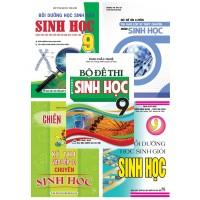 Combo Bồi Dưỡng Học Sinh Giỏi Sinh Học Lớp 9 + Bộ Đề Ôn Luyện Thi Vào Lớp 10 THPT Chuyên Môn Sinh Học (Bộ 5 Cuốn)