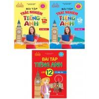 Combo Bài Tập Tiếng Anh Lớp 12 + Bài Tập Trắc Nghiệm Tiếng Anh Lớp 12 Có Đáp Án (Bộ 3 Cuốn)