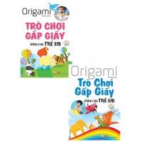 Combo Origami Trò Chơi Gấp Giấy Dành Cho Trẻ Em (Bộ 2 Tập)