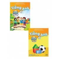 Combo Tiếng Anh Lớp 2 - I Learn Smart Start 2 (Student Book + Work Book)