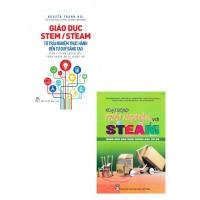 Combo Giáo Dục STem/ STeam + Hoạt Động Trải Nghiệm Với STeam Dành Cho Học Sinh THCS (Bộ 2 Cuốn)