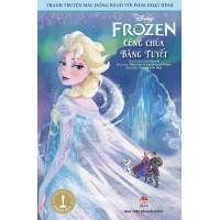 Tranh Truyện Màu Đồng Hành Với Phim Hoạt Hình - Frozen Công Chúa Băng Tuyết