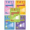Combo Try! Thi Năng Lực Nhật Ngữ (N1 - N5) - Phát Triển Các Kỹ Năng Tiếng Nhật Từ Ngữ Pháp (Bộ 5 Cuốn)