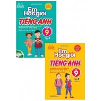 Combo Em Học Giỏi Tiếng Anh Lớp 9 (Bộ 2 Tập)