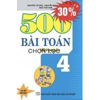 500 Bài Toán Chọn Lọc Lớp 4