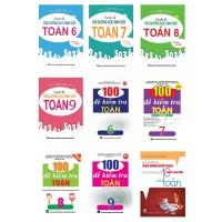 Combo Chuyên Đề Bồi Dưỡng Học Sinh Giỏi Toán THCS + 100 Đề Kiểm Tra Toán THCS (Bộ 9 Cuốn)