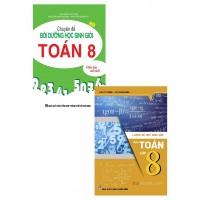 Combo Chuyên Đề Bồi Dưỡng Học Sinh Giỏi Toán Lớp 8 + Luyện Đề Học Sinh Giỏi Môn Toán Lớp 8 (Bộ 2 Cuốn)
