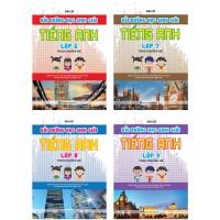 Combo Bồi Dưỡng Học Sinh Giỏi Tiếng Anh 6, 7, 8, 9 Theo Chuyên Đề (Bộ 4 Cuốn)