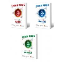 Combo Chinh Phục Luyện Thi Vào Lớp 10 Môn Toán, Văn, Anh Theo Chủ Đề (Bộ 3 Cuốn)
