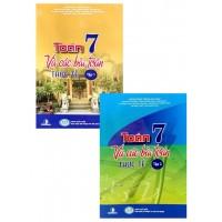 Combo Toán Lớp 7 Và Các Bài Toán Thực Tế (Bộ 2 Tập)