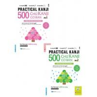Combo 500 Chữ Kanji Cơ Bản (Bộ 2 Cuốn)