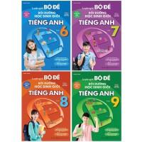 Combo Luyện Giải Bộ Đề Bồi Dưỡng Học Sinh Giỏi Tiếng Anh Lớp 6, 7, 8, 9 (Bộ 4 Cuốn)