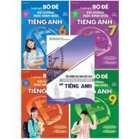 Combo Luyện Giải Bộ Đề Bồi Dưỡng Học Sinh Giỏi Tiếng Anh Lớp 6, 7, 8, 9 Và Ôn Thi Vào Lớp 10 THPT Chuyên Môn Tiếng Anh (Bộ 5 Cuốn)
