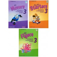 Combo Starters, Movers, Flyers Authentic Examination Papers 3 (Bộ 3 Cuốn)