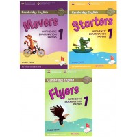 Combo Starters, Movers, Flyers Authentic Examination Papers 1