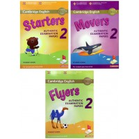 Combo Starters, Movers, Flyers Authentic Examination Papers 2