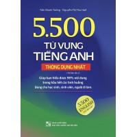 5500 Từ Vựng Tiếng Anh Thông Dụng Nhất (Bản Màu)